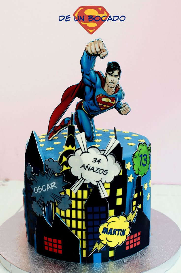 Best 25 Superman cakes ideas on Pinterest Superhero cake