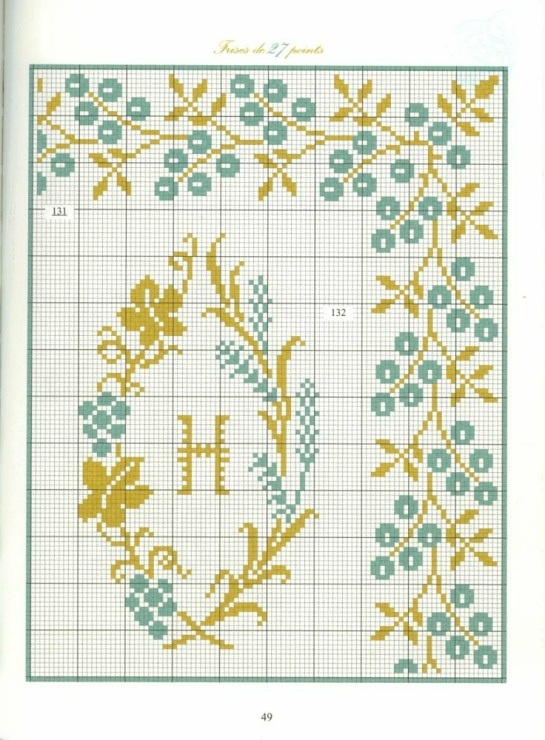 Borders in cross stitch 27