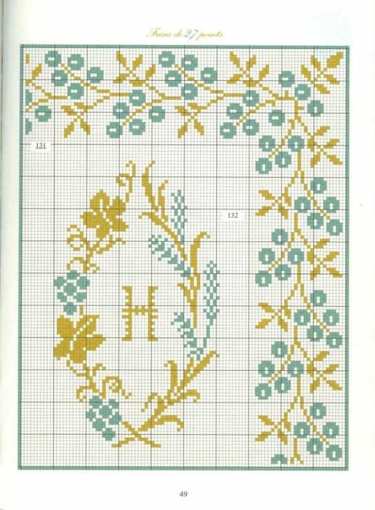 Borders in cross stitch 27