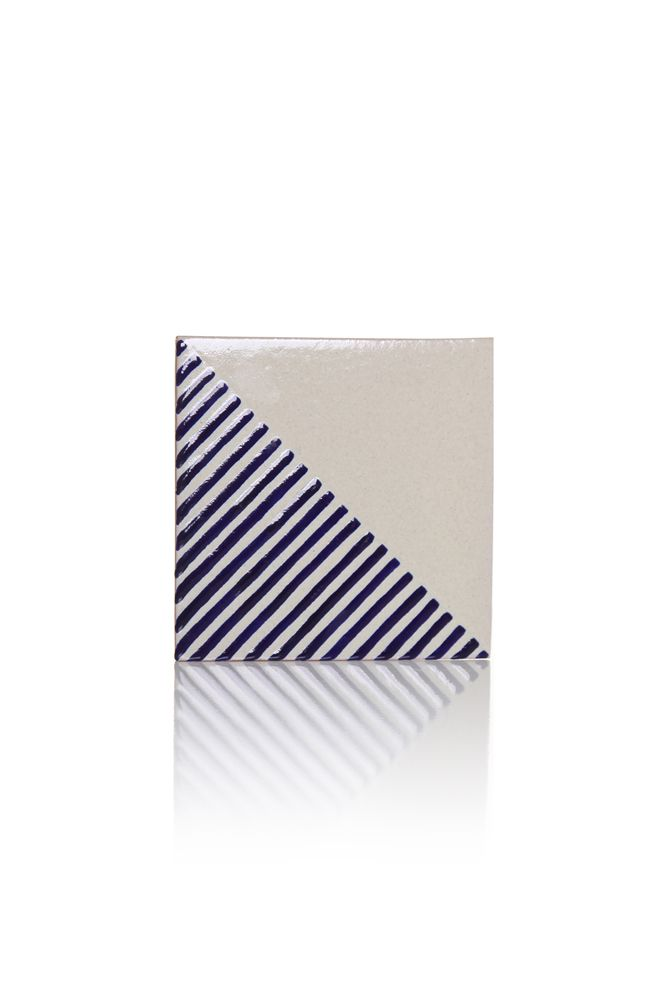 LINO tile design by davidpompa | Uriarte Talavera | handpainted handmade in…