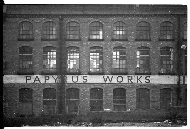 Old Factory, Basford, Nottingham, 1985