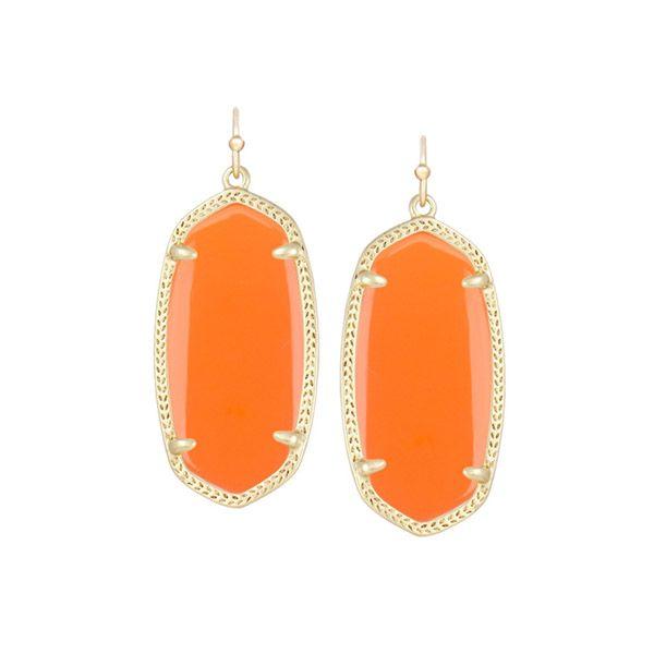 Kendra Scott Elle Earrings in Orange at The Paper Store