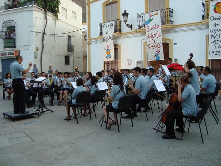 """Banda de Música Juvenil """"El Trabuco"""". Alboloduy. Alpujarra. Música."""