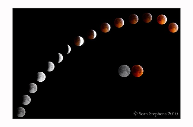 Lunar Eclipse by DarkElfPhoto, via Flickr
