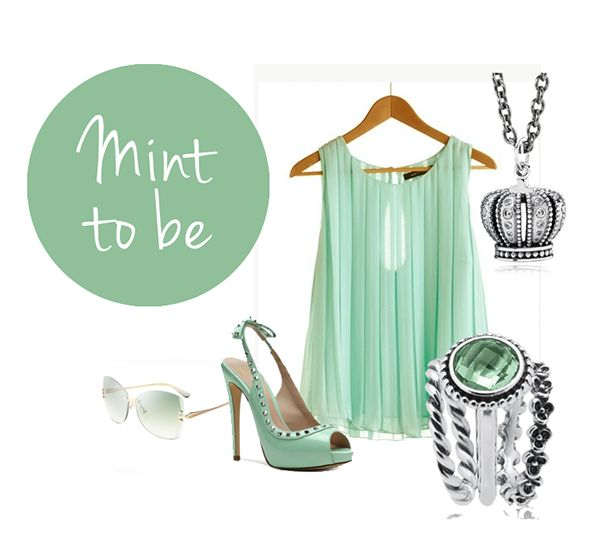 Get inspired and excited about MINT with this cool summer shade