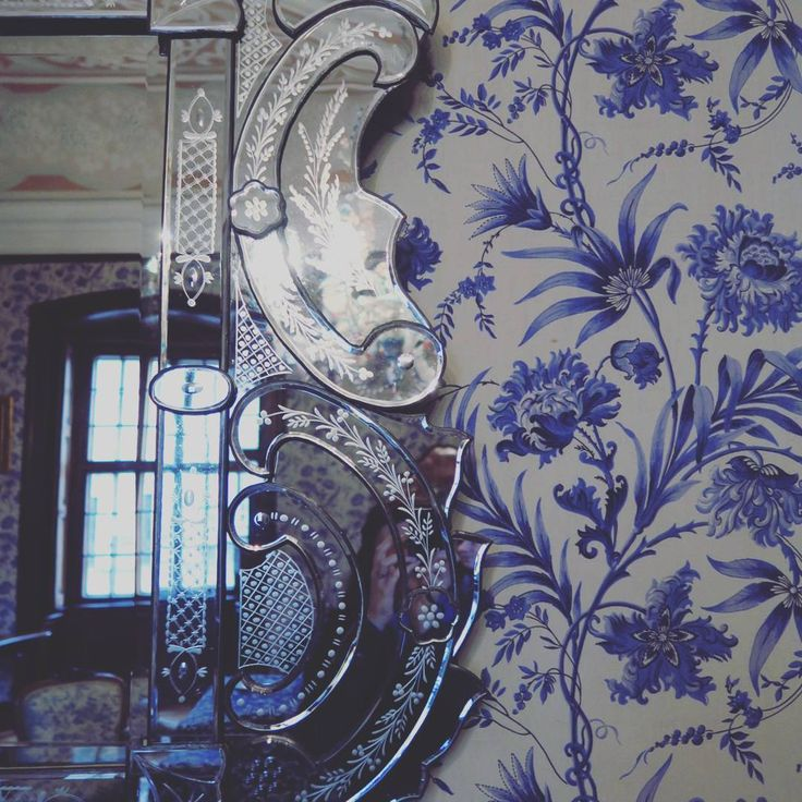Details from hundred years ago.   #castle #details #interior #blue