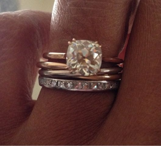 Sylvana Ward Durrett Engagement Ring
