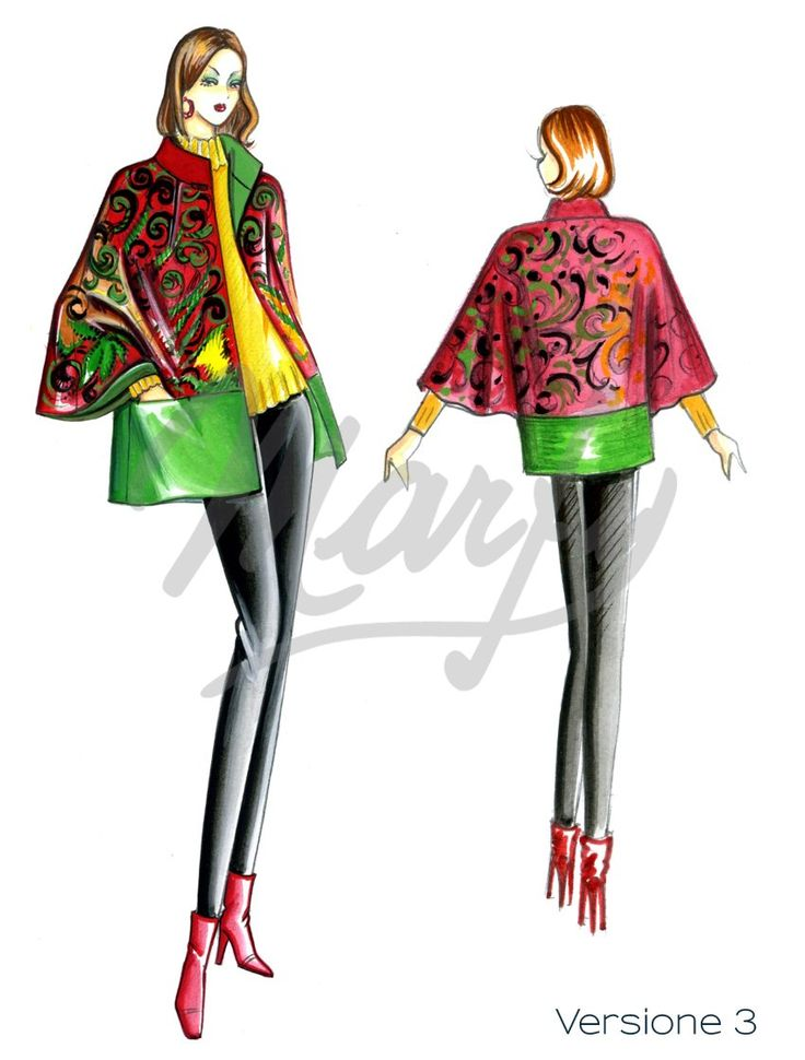 Sewing pattern Capes 4104 PDF