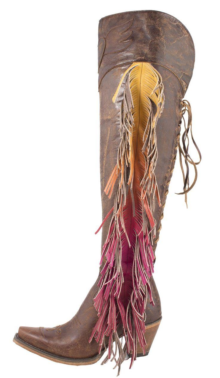 spirit animal boot-brown