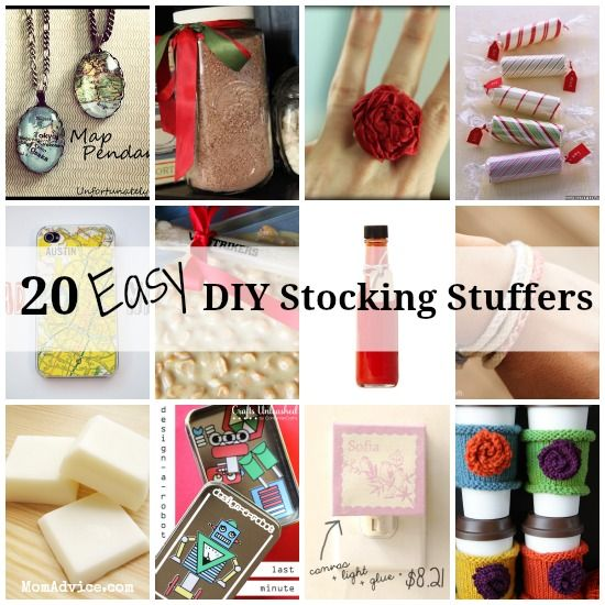 20+ Easy DIY Stocking Stuffers For All Ages Awesome Ideas
