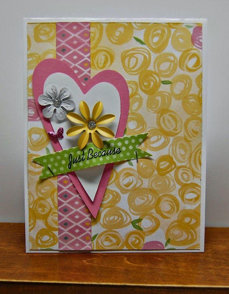 Pinterest Beautiful Handmade Cards Just Bcause 6