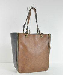 Duża pojemna torebka z saszetką