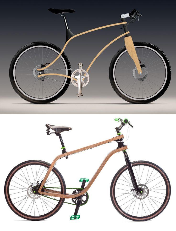 Plywood Bike. Student Work.