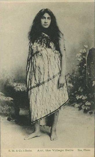 New Zealand, Maori Woman Vintage