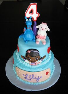 Reagan's 5th birthday Doc McStuffins Cake