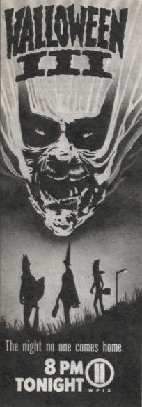 The Horrors of Halloween: HALLOWEEN III: SEASON OF THE WITCH (1982) Newspaper Ads, VHS, DVD and Blu-ray Covers