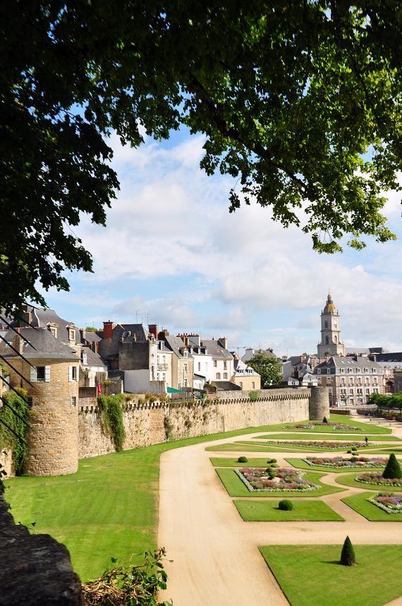 Jardin des Remparts, Vannes Bretagne