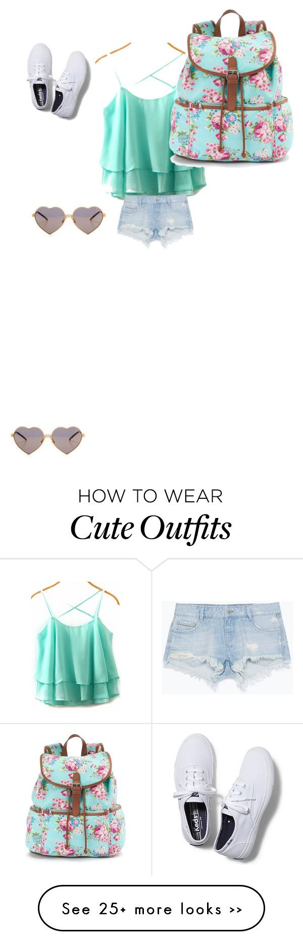 """""""Cute summer outfit"""" by hannah-greenfield08 on Polyvore"""
