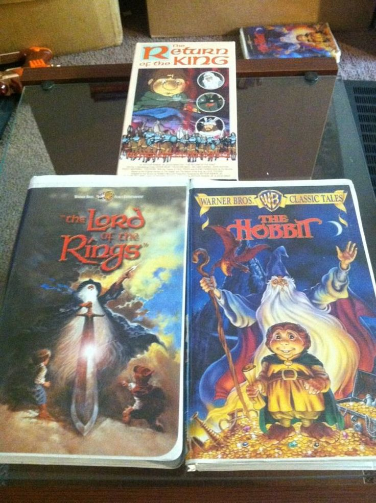 Lord Of The Rings Vhs Value