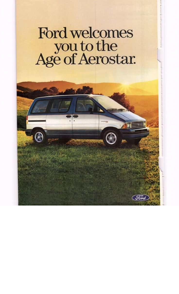 1985 ford aerostar debut ad 1 of 4 national geographic october 1985