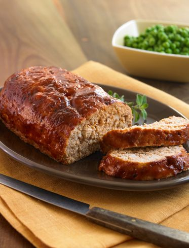 3-Ingredient Meat Loaf Healthy Recipe #BiggestLoserBiggest Loser Recipe, Loser Meatloaf, Bbq Sauces, Meatloaf Www Nbc Com, The Biggest Loser, 3 Ingredients Meat, Meat Loaf, Healthy Recipe, Biggestloser