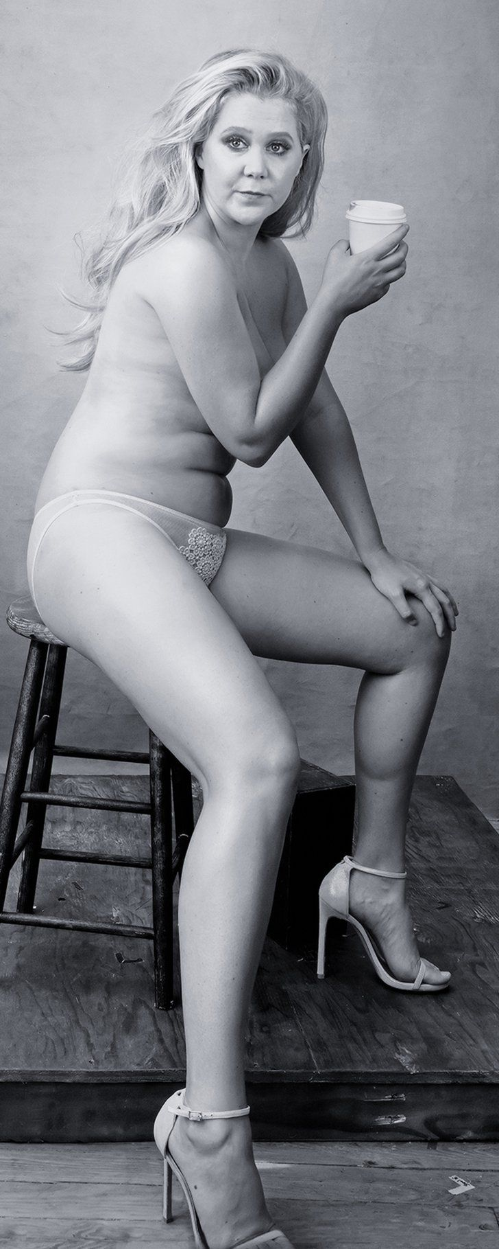 Pin for Later: We Need More Photos Like This Naked One of Amy Schumer in Our Lives
