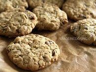 Biscuits aux flocons d'avoine et aux raisins secs : Etape 3