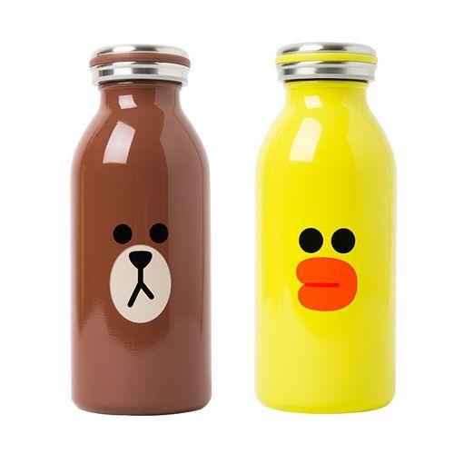 NAVER LINE FRIENDS BROWN SALLY Mosh Tumbler Handy Drink Container 350ml #NAVERLINEFRIENDS