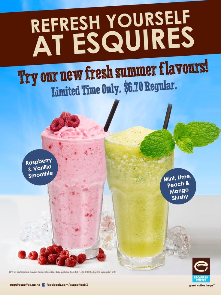 Here is a couple of shots we did recently for Esquires Coffee of a new range of summer smoothies and slushy products. http://www.productimage.co.nz/esquires-coffee-photography/