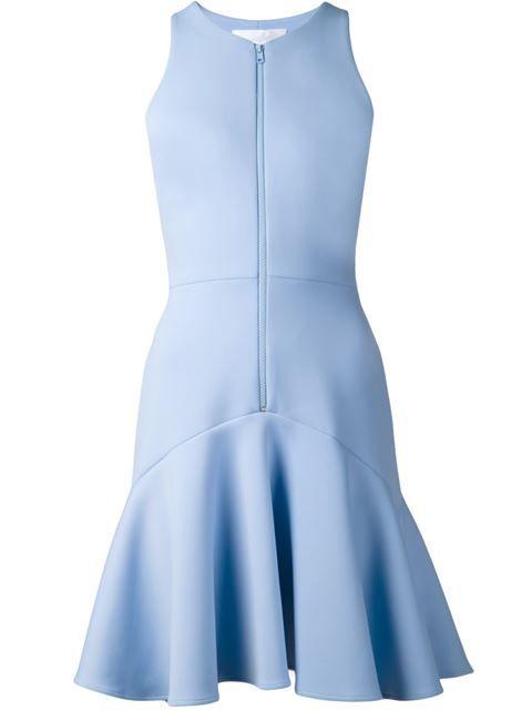 Cushnie Et Ochs zip front in pale blue