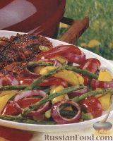 Фото к рецепту: Овощи, жаренные на гриле