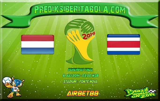 Prediksi Bola Belanda Vs Kosta Rika 6 Juli 2014