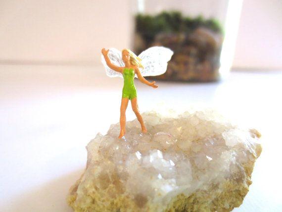 Run with Me....Miniature Fairy Terrarium Accessory by FaerieNest, $21.95