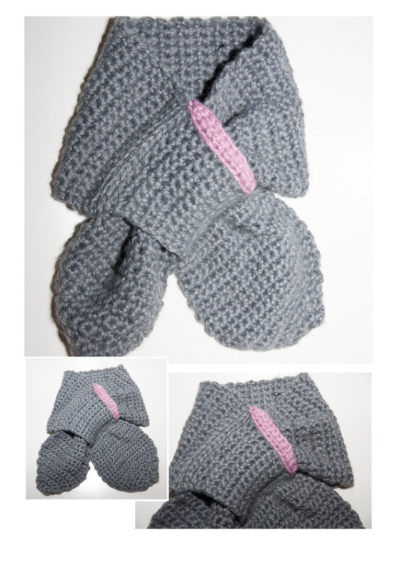 91 best images about bufandas y guantes a crochet on - Ideas para hacer ganchillo ...