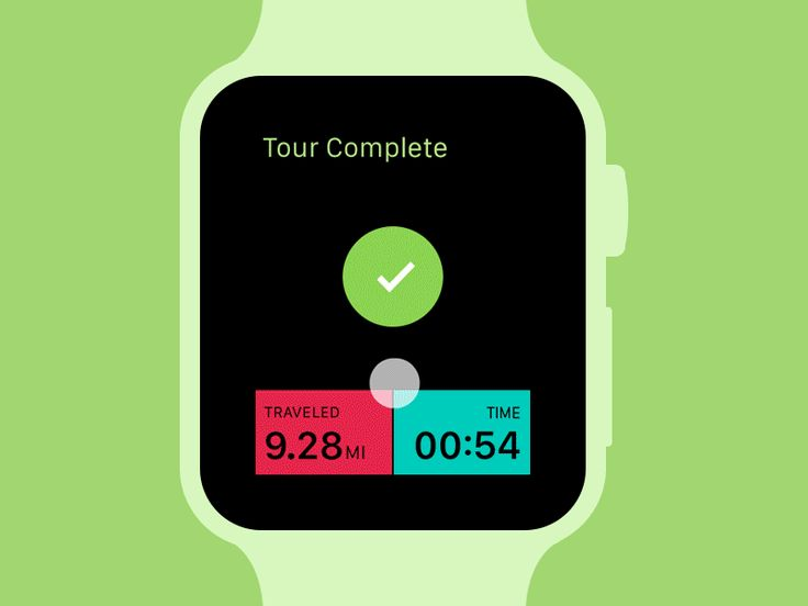 Komoot available for Apple Watch by Dmytro Prudnikov