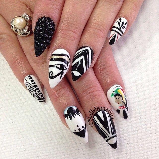 Stiletto Nail Art: Best 25+ Stiletto Nail Art Ideas On Pinterest