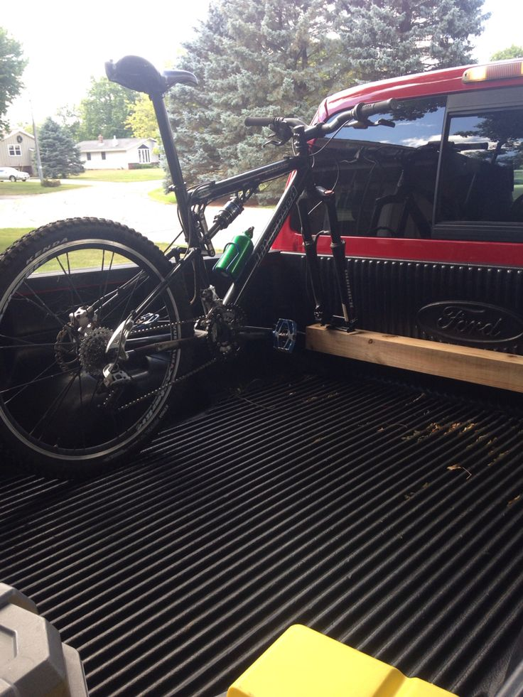 Truck Bike Rack 2 Turnbuckles Eyelits One Can Fit 4 Bikes In A Full Size Using The Saris Fork Mount