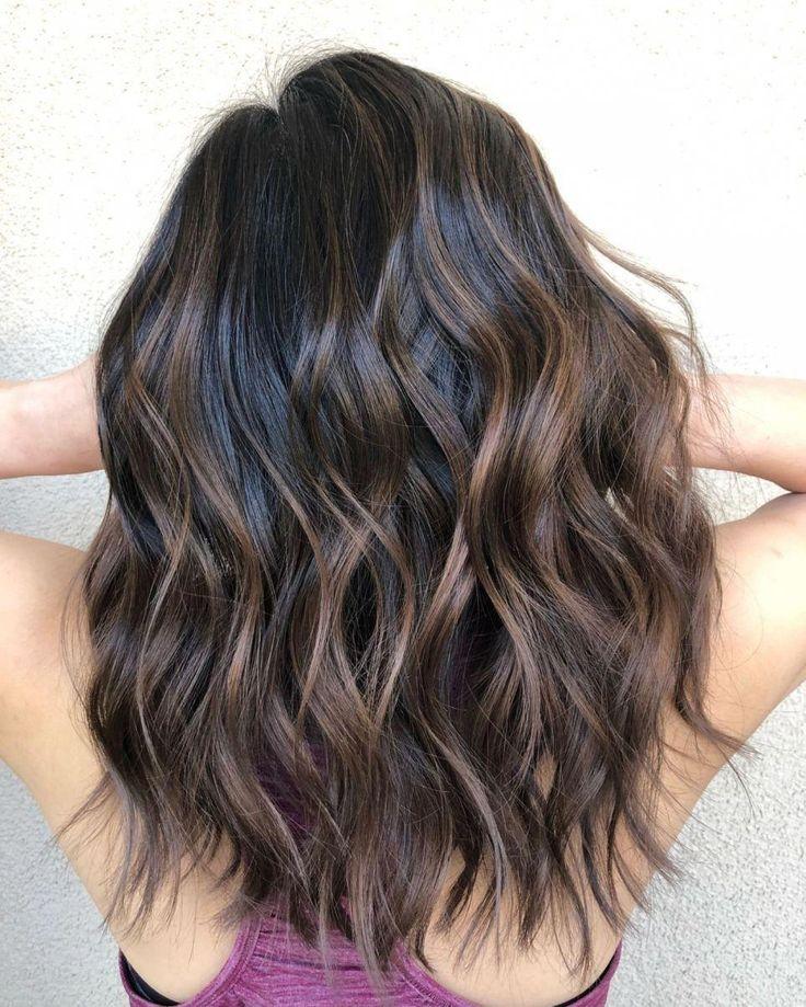 60 Idee per capelli color cioccolato marrone per brune ...