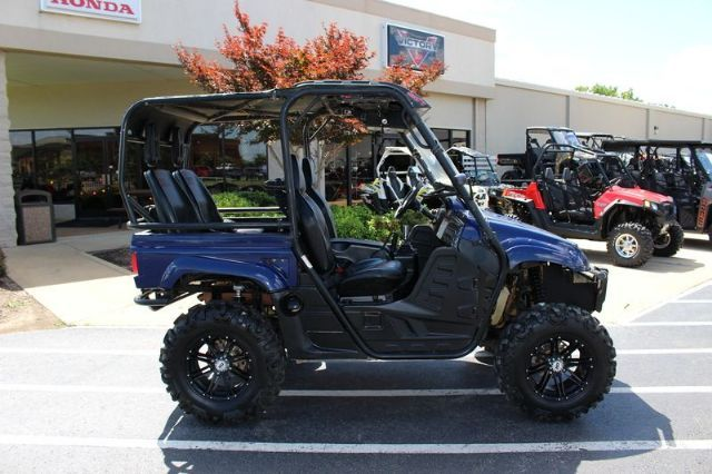 2008 Yamaha Rhino 700 FI Auto 4x4 SE Steel Blue Side-By-Side ,  BLUE, 5,008 miles for sale in Union City, TN