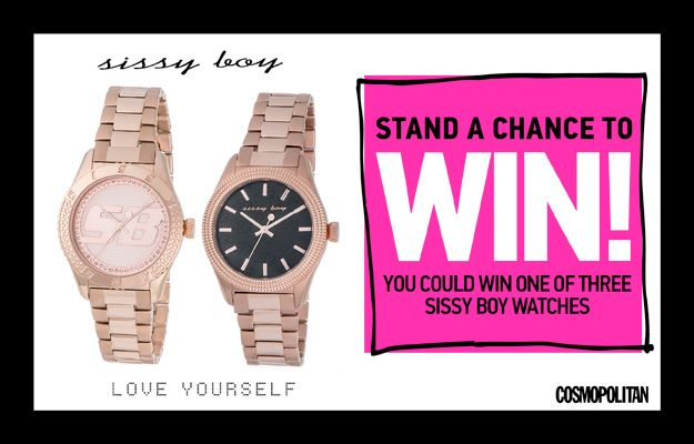 WIN 1 of 3 Sissy Boy Watches