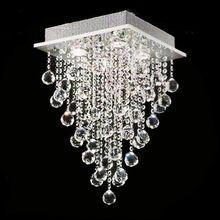 Бесплатная доставка столовая гостиная хрустальная люстра бар светильники потолочные люстры led
