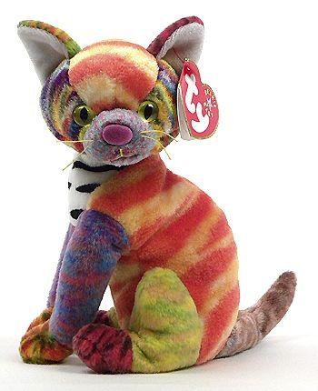 Kaleidoscope - cat - Ty Beanie Babies