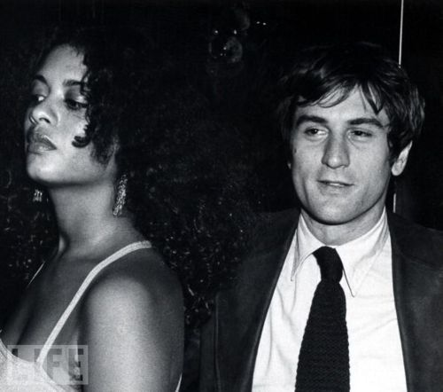 Robert De Niro and Diahnne Abbott, 1976. (m. 1976–1988)