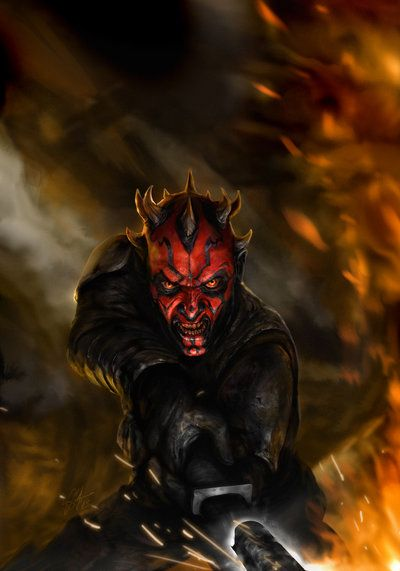 Star Wars - Darth Maul by Chris Scalf