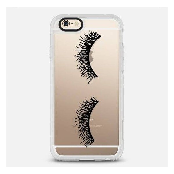 Casetify Eyelash Wink Iphone Case Black By ($40) ❤ liked on Polyvore featuring accessories, tech accessories, phone cases, phones, tech, iphones, electronics accessories, iphone sleeve case, iphone cover case and apple iphone case