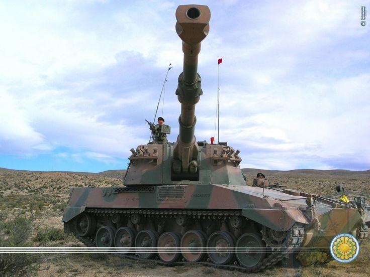 artillería autopropulsada