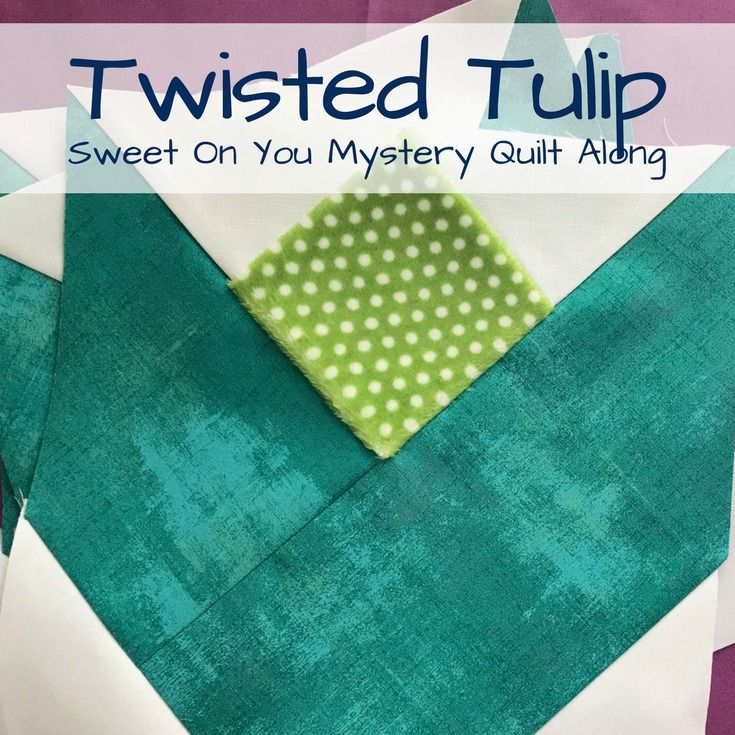 Twisted Tulip Block 21 best Cuddle Sweet