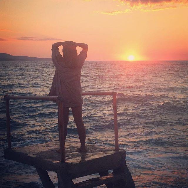 Sunset kiss 💋💋💋 Malgosia & Dear John in @Albania🔥❤️ #dearjohn…