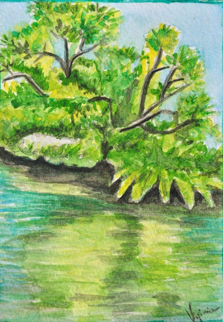 Postcards 11x15 cm watercolor