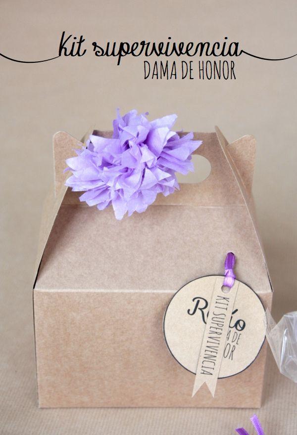 Made with lof: Kit de supervivencia - Dama de Honor